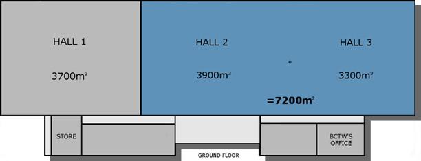 Hall 2 plus Hall 3